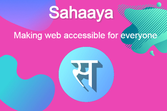 Sahaaya - Making web accessible to everyone