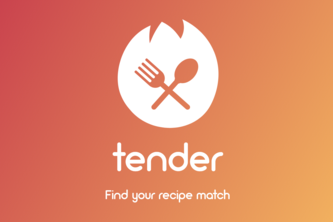 Tender - Find your recipe match!
