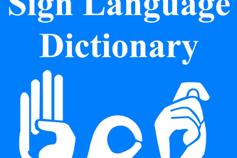 Sign Language Dictionary Bot and Live chat