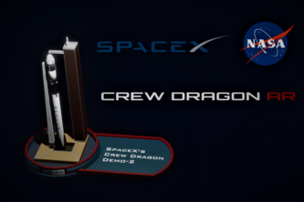 SpaceX Crew Dragon AR