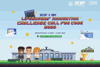 SCDFxIBM Lifesavers Innovation Challenge: Call for Code 2020