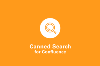 Canned Search for Confluence