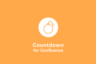 Countdown Timer for Confluence Cloud
