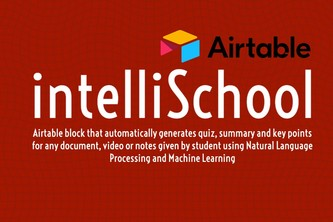 intelliSchool Airtable Block