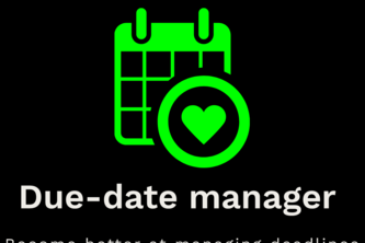 Due-date manager for Trello