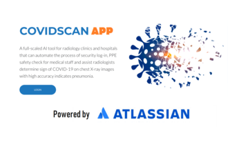CovidScan-An Forge-intergrated AI Radiology App For COVID19