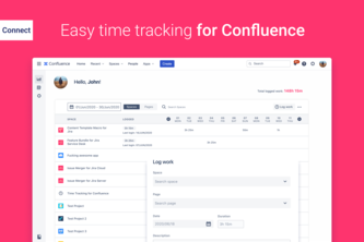 Time Tracking for Confluence