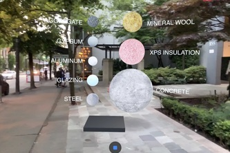 Embodied Carbon Augmented Reality Visualization