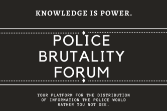 Police Brutality Forum