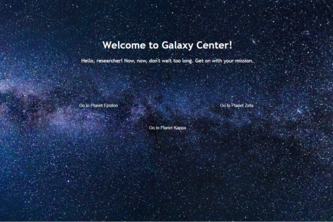 Galaxy Center: A Cryptography Game