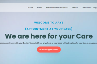 AAYE- Appointement At Your Ease