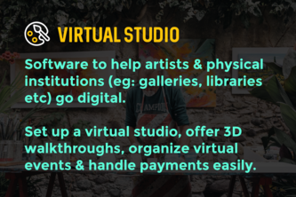 Virtual Studio - Tools to help artists/galleries go digital