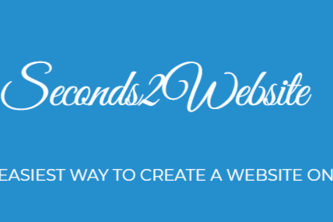 Seconds2Website- Quick, Easy, Cost Free Websites & PWA Apps