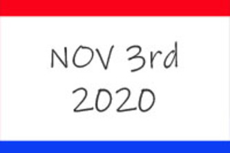 Election Day 2020 - speak truth to power