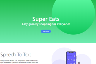 Super Eats - Easy Grocery Shopping for Everyone!