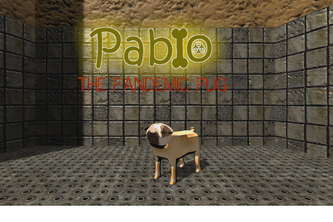 Pablo the Pandemic Pug