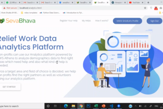 Relief Work Data Analytics Platform