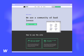 SaaS Study Group Onboarding Site