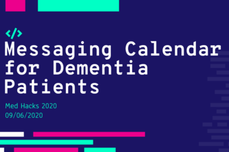 Messaging Calendar for Dementia Patients