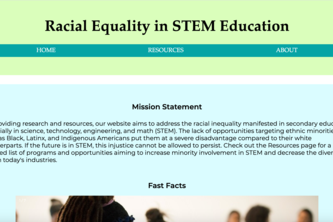 Racial Equality in STEM Education