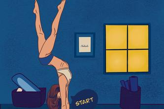Handstand Quest: Freestyle Fitness App