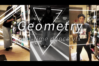Geometry -- real-time dance vfx