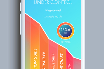 Under Control- Weight Journal App