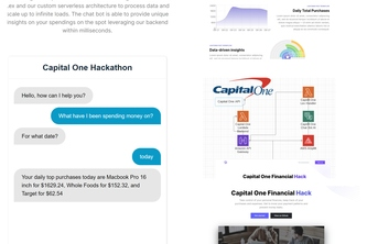 Capital One Financial Hacks