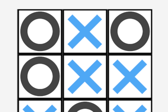 TicTacToe For teaching GUIs in Java