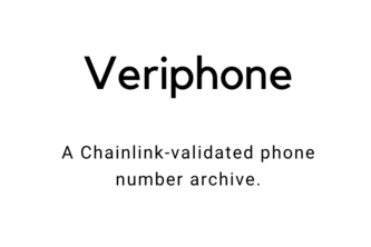 Veriphone - Phone validation and antispam on Chainlink