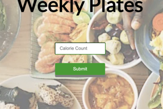 Weekly Plates