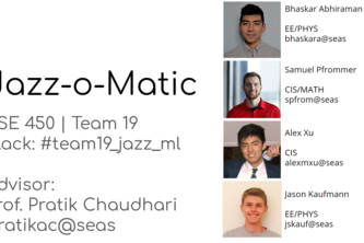 Team 19: Jazz-o-Matic