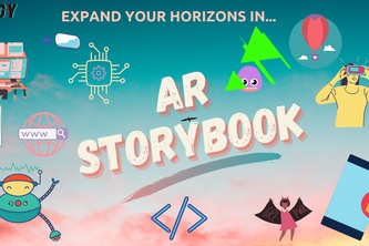 AR Storybook: Expand Your Horizons in CS
