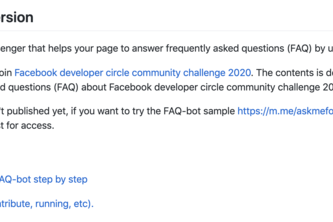 Tutorial for how to create smart assistant FAQ-bot