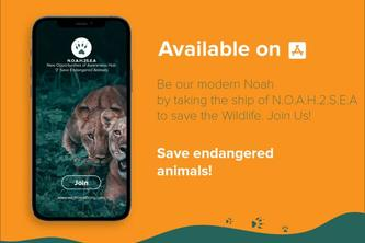 N.O.A.H 2 S.E.A -App for citizens to contribute for wildlife