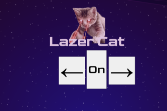 lazer cat