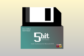 FiveBit Audio Synthesizer for MS-DOS