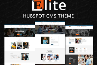 Elite - HubSpot CMS Theme