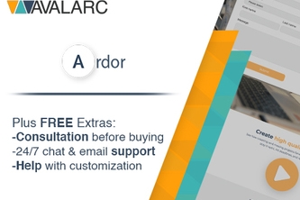 Ardor - HubSpot Theme by AVALARC