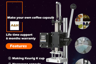 k cup filling machine and  k cup sealing machine factory-A&H