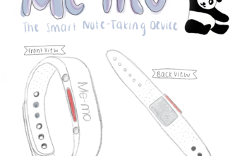 "Me-mo: ""The Smart Note-Taking Device"""