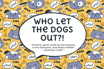Who Let The Dogs Out?!