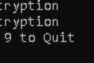 Encryption in C++