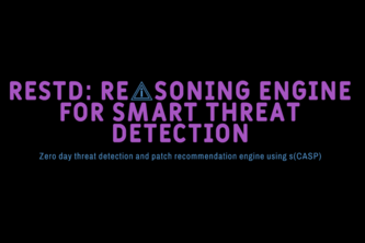 RESTD - Reasoning Engine for Smart Threat Detection