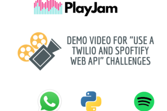 """Demo for """"Use a Twilio and Spoftify web API"""" challenges"""