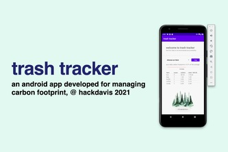 trash tracker -