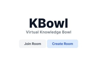 KBowl - Virtual Knowledge Bowl