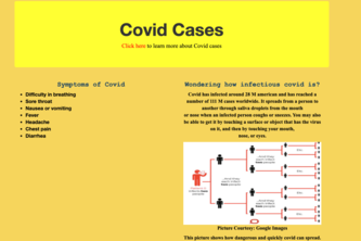 Covid-19 Awareness Project