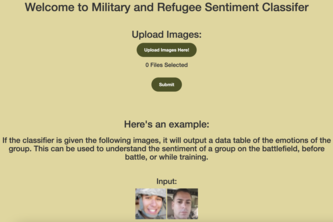 Military and Refugee Sentiment Classifier