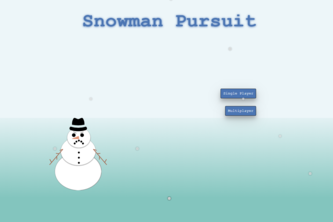 Snowman Pursuit